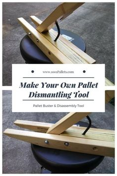 The Pallet Pal by Izzy Swan is one of the easiest ways (among others) to dismantle pallets with very little …