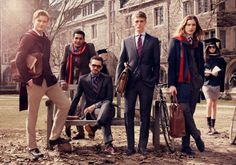 Tommy Hilfiger Campaign FW - Jacquelyn Jablonski, Toni Garrn, Marlon Teixeira and others by Craig McDean Preppy Family, Preppy College, Preppy Men, Preppy Style, College Life, Mode Tommy Hilfiger, Tommy Hilfiger Fashion, Tommy Hilfiger Damen, Craig Mcdean