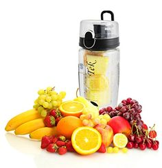 Largest Infuser Sport Water Bottle For Fruity Hydration Best News  100 Spill and Leak Proof Bonus eBook and Cleaning Brush For Easy Cleaning Multiple Colors  Buy 2 and Save Black * Want additional info? Click on the image.
