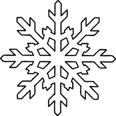 Free Printable Snowflake Coloring Pages For Kids - AniFil - Free Printable Snowflake Coloring Pages For Kids Snowflake Shape Coloring Pages - Snowflake Outline, Snowflake Stencil, Snowflake Template, Simple Snowflake, Snowflake Craft, Snowflake Shape, Snowflake Pattern, Snowflake Quilt, Frozen Snowflake