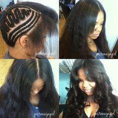 Crochet Braids With Straight Hair Straight Crochet Hair Styles Crochet Hair Styles Crochet Braids Hairstyles, Curled Hairstyles, Weave Hairstyles, Straight Hairstyles, Cool Hairstyles, Crotchet Braids, Modern Hairstyles, Hairstyles Haircuts, Crochet Straight Hair
