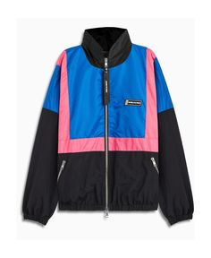 Daniel Patrick 2020 Nylon Track Jacket In Blue Daniel Patrick, Mens Fashion, Clothes For Women, Pink, Track, Jackets, Blue, Mountains, Shopping