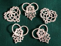 tatting *** would make nice earrings