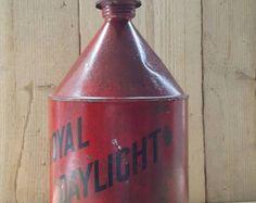 Reciclado Vintage lámpara luz Industrial Lámpara por Stprevived