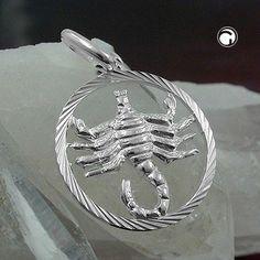 Anhänger, Sternzeichen Skorpion, 925 accessorize24-91011