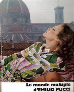 Vogue Paris 1975 Pucci Gaby Wagner by Barbieri