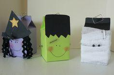 halloween milk carton craft.. so cute