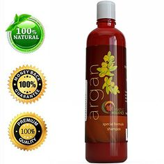 Argan Oil Shampoo, Sulfate Free With Argan, Jojoba, Avocado, Almond, Peach Kernel, Camellia Seed, and Keratin, 100% Safe for Color Treated Hair, For Men, Women, and Teens. All Hair Types; Most Beneficial Haircare Product Available; Guaranteed By Maple Holistics