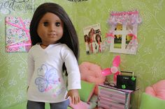 My Froggy Stuff: doll crafts. Tons of easy crafts to make for dolls.