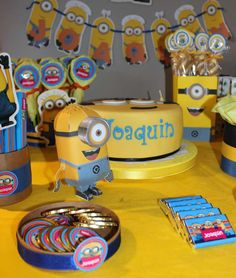 Minions Birthday Party Ideas   Photo 7 of 7   Catch My Party