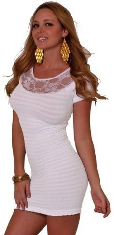Short Sleeve Sheer Lace Boat Neck Fitted Evening Clubwear Party Mini Dress S M L Hot from Hollywood,http://www.amazon.com/dp/B008BM1DCS/ref=cm_sw_r_pi_dp_lPi7qb0Y0KWRKFJK