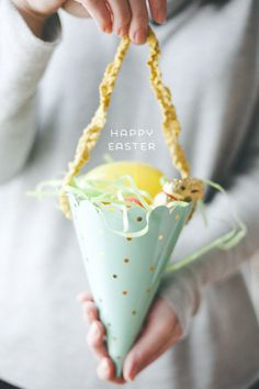 LifeLovePaper | Easter Cone DIY