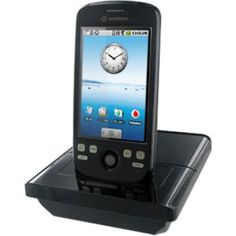 Amzer Deluxe Desktop Cradle for T-Mobile myTouch 3G/HTC Magic - Black. Sleek and stylish T-Mobile myTouch 3G/HTC Magic Deluxe Desktop Cradle from Amzer!. Amazingly convenient cradle to Sync charge your T-Mobile myTouch 3G/HTC Magic and the 2nd battery all at once. HTC 11 pins socket allows you to enjoy high quality music with HTC earphone. 3.5mm audio out for any stereo earphone and speaker. Built in mini USB socket allows you to connect to PC with any mini USB cable.