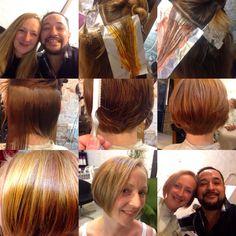 Cambio de look  Corte color y Balayage. www.waltermaciel-estilistes.com