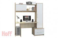 Компьютерный стол Денвер - купить в интернет-магазине Hoff. Характеристики, фото и отзывы.