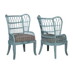 Melt into the embrace of the Aqua Marine Rattan Patio Chairs in the comfort of your private patio. These woven rattan chairs are strong and durable without giving up comfort and style. Shop outdoor furniture now. Country Furniture, Solid Wood Furniture, Shabby Chic Furniture, Patio Chairs, Outdoor Chairs, Outdoor Furniture, Rattan Chairs, Garden Furniture, Tropical Decor