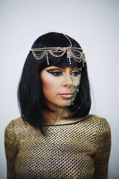 Cleopatra makeup Vivian Makeup Artist