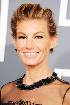 """10 Famous Faces with Braces - Faith Hill has great advice - """"Wear your retainers!"""""""