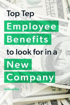 Checkout this list of employee benefits to look for when joining a new company. Employee Benefit, Good Employee, Make Money Fast, Make Money Online, Paid Time Off, Employment Opportunities, Family Planning, Managing Your Money, Early Retirement