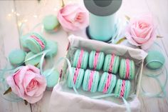 French Macaron Recipe  Tips and Tricks Wedding Gift Registry, Wedding Favors, Wedding Gifts, Wedding Vendors, Wedding Decorations, Wedding Ideas, French Macarons Recipe, Macaron Recipe, Pink Roses