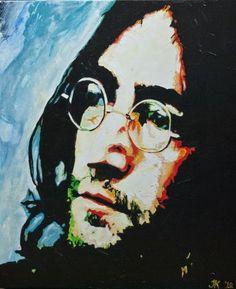 John Lennon, artwork by Jolanda Kunst