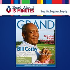 In honor of Grandparents' Day on Sunday, September 8, go to http://www2.readaloud.org/grandmagazine to sign up for the Read Aloud 15 MINUTES newsletter and you will receive a free one-year subscription to GRAND Magazine.