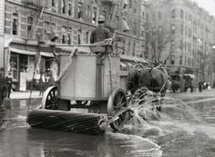 Street Sweeper, from the NYC Municipal Archives