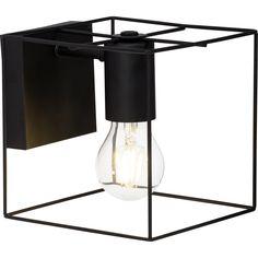 Brilliant Leuchten Vidia Wandleuchte schwarz bei OTTO Lustre Vintage, Luster, Retro, Lighting, Finesse, Place, Design, Home Decor, Style