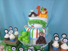"Photo 1 of 16: Baby Safari / Birthday ""Safari 1st Birthday Party - Thomas""   Catch My Party"