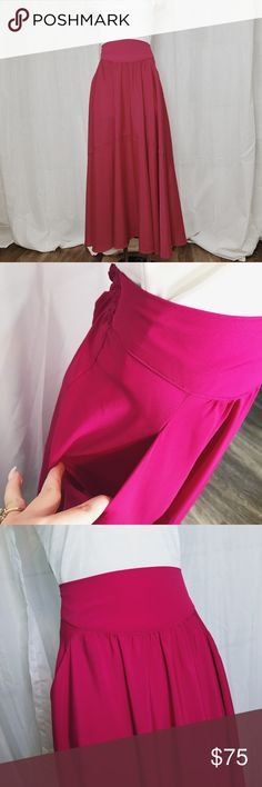 56e10894a976 Free people hot pink maxi skirt size small Free people hot pink maxi skirt  size small