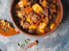 Græskar-lamme tagine | ChriChri Morrocan Food, Pot Roast, Dinner, Eat, Ethnic Recipes, Carne Asada, Dining, Roast Beef, Dinners