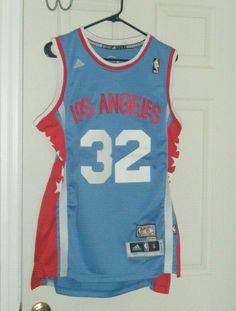 551319c98cd Los Angeles Clippers Blake Griffin Adidas ABA Home Hardwood Classics Jersey