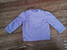 Jumping Beans 24 months purple fleece long sleeve shirt