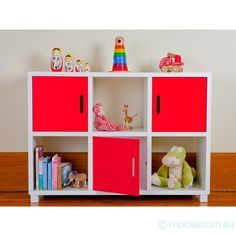 Storage Unit - Six Cubes (Nursery & Room Decor). These extremely cool storage units are not only functional but will fit into any room in the house. Suitable from infants through to teens. Hugely practical for storage and keeping those toys tidy. Cube Storage Unit, Cube Unit, Kid Toy Storage, Storage Cubes, Storage Shelves, Storage Ideas, Shelf, Cube Furniture, Kids Bedroom Furniture