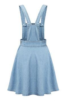 Colygamala Women's Sweet Pocket Slim Strap Denim Dress A-line Casual Overalls Jeans Dresses Stylish Dresses, Simple Dresses, Cute Dresses, Fashion Dresses, A Line Denim Skirt, Denim Overall Dress, Jeans Dress, Dress Skirt, Suspender Skirt