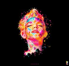 Marilyn reloaded - Abstract colors series  www.nosurprises.it