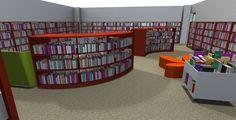 Children's Library Area Design  BCI Library Design