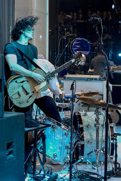 The amazing talented Jack White in his natural element