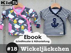 #18 Wickeljäckchen   eBook + Schnittmuster