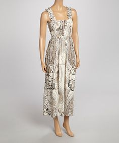 Look what I found on #zulily! Ivory Maxi Dress #zulilyfinds