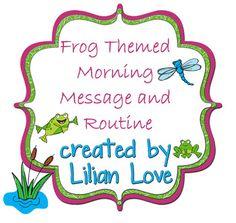 valentine box frog