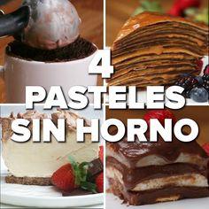 Healthy Dessert Recipes, Sweet Desserts, Baking Recipes, Delicious Desserts, Cake Recipes, Yummy Food, Sleepover Food, Jello Cake, Pan Dulce