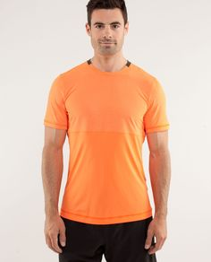 Reflective running shirt that is kinda styin from Lulumon.