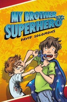 J FIC SOL. Eleven-year-old Luke, a hardcore fan of comics and superheroes, is jealous when his undeserving older brother Zack is zapped by an alien and turned into a superhero, until a plot to destroy the Earth incapacitates Zack, and Luke, accompanied by Lara, the nosey girl next door, must come to the rescue.