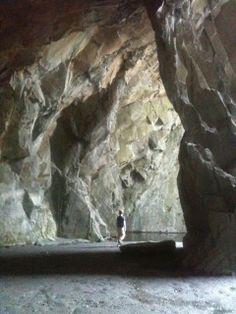Inside Cathedral Quarry, Little Langdale