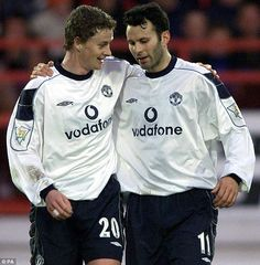 Solskjaer and Giggs were team-mates at Manchester United for over a decade