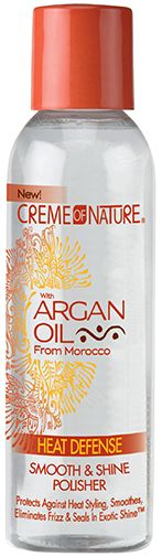 Creme of Nature Argan Oil Heat Protectant - Gloss & Shine Polisher