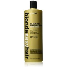 Sexy Hair Bombshell Blonde Conditioner, 33.8 Fluid Ounce * Check this awesome product by going to the link at the image. (This is an affiliate link) #HairCare