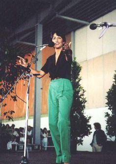 Joan Baez Crazy People, Strange People, Joan Baez, Rock, Mom Jeans, Pants, Flower, Style, Fashion