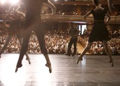 The National Ballet of Canada Class on Stage, taught by Artist-in-Residence Rex Harrington 15Jun13